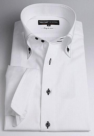【日本製】7分袖・形態安定加工ドレスシャツ